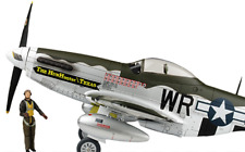 "Flight Wings 1/18 WWII P-51 ""The Hun Hunter from Texas"" (Pre-built) - FW001C"