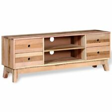 vidaXL TV Cabinet Bench Media Entertainment Stand Home Solid Reclaimed Wood