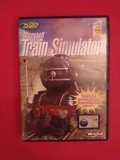 Microsoft Train Simulator (PC GAME) VGC C/ W MANUAL