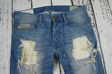 DIESEL TEPPHAR 669Y 0669Y JEANS MEN 30x32 W30 L32 DESTROYED CONDITION 100% AUTHE