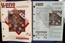 K-LINE 1995 Machine Shop Equipment, Tools & Supplies Catalog w/ Price Sheet