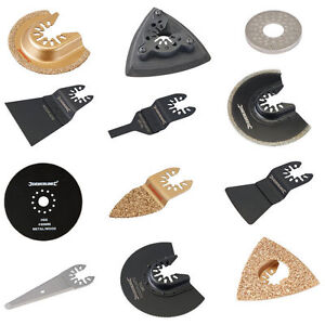 Silverline Oscillating Multi Tool Saw Blades fits Bosch Fein Makita Black Decker
