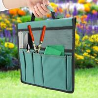 Foldable Portable Garden Kneeler Bench Kneeling Bag Tool Storage Stool Pouch