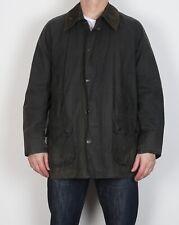 "BARBOUR Bedale Wax Jacket Coat 44"" Large XL Navy Blue Vintage (5BG)"