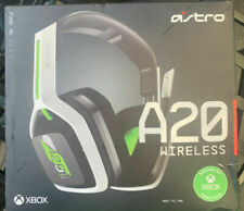 astro a20 wireless headset, white, black and green
