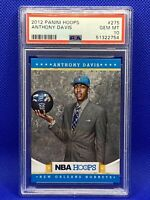 🔥2012-13 Panini NBA Hoops #275 Anthony Davis Lakers RC Rookie PSA 10 GEM💎👀🤯