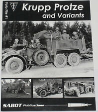 KRUPP PROTZE VEHICLES WW2 German Six Wheeled Truck Artillery Tractor History War