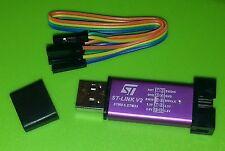 ST-Link V2 USB-Programmer Stick Dongle kompakt STM32-Debugger *violett*