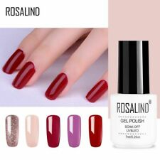 Gel Nail Polish Rosalind 1S Classical White bottle Long-lasting Soak-off UV Gel