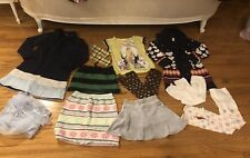 Lot Of 12 Girl 7-8 Yrs Justice Children Place Gymboree Shirts Sweaters Skirts