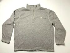 The North Face quarter zip pullover men's XLarge Gray