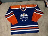 Edmonton Oilers CCM Jersey Mens Size XL
