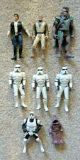 STAR WARS 1995 POTF & 1996 SOTE Flattop Chewie Stormtrooper Action Figure Lot