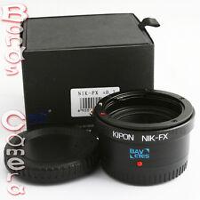 Kipon Baveyes 0.7x Optic Reducer Adapter Nikon F Lens to Fujifilm Fuji X Pro1 E1
