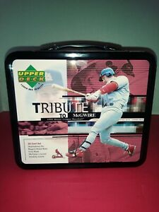 TRIBUTE TO McGUIRE LUNCH BOX PLUS SEALED CARD SET 1-30 C 1999 NEW MINT CONDITION