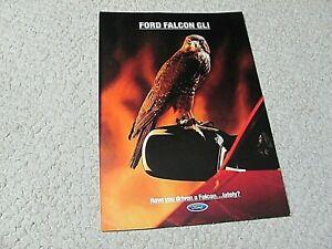 1992 AUSTRALIAN FORD FALCON GLi SALES BROCHURE...
