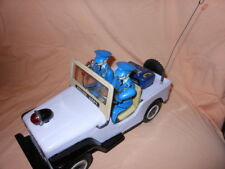 T.N Nomura - Polizei P.D Patrol Jeep  POLICE DEPT ! 50/60er Jahre