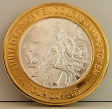 "FOUR QUEENS SILVER STRIKE COIN TOKEN "" Goddess Of Winter """