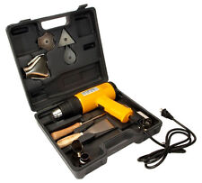 1500W Heavy Duty Dual Temperature Electric Heat Gun Kit With Case & Accessories