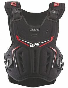 Leatt 3DF Airfit Chest Protector MX ATV Off Road Riding Armour Black One Size