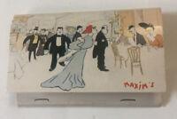 "Vintage Matches Chez ""Maxim's"" French Restaurant Paris France Unused"