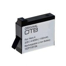 Akku kompatibel zu GoPro Hero4 Li-Ion Ersatzakku Batterie Accu 8009202