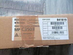 Ricoh Toner Print Cartridge Magenta MP C 3503