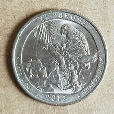 US Mint 2012 P/&D ATB Quarters El Yunque Puerto Rico PR Rolls NOT BANK ROLL R74