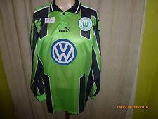 "VfL Wolfsburg Puma Langarm Spieler Version Trikot 1999/00 ""VW"" Gr.XXL Neu"