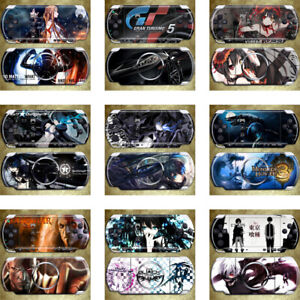 Sticker Vinyl Decals Back Skin Cover Protector For PSP3000