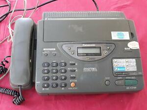 Panasonic Telephone Answering Fax Machine KX-F2700E - G   - used working