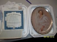 THE PEOPLE'S PRINCESS DIANA QUEEN OF OUR HEARTS PLATE/Cert./1997/NIB