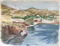 Karl Adser 1912-1995 Gouna Sommertag Rotes Meer Ägypten Lagunenstadt Afrika