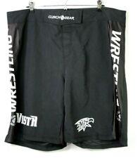 "Clinch Gear Wrestling Mma Vista Stretch Shorts Black Size 40 9"" Inseam"