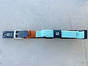"FootJoy Braided Belt Mint Regular Length 32-35"" Used once"