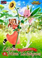 G.E.M. Series Digimon Adventure Lillymon & Mimi Tachikawa Megahouse Japan NEW