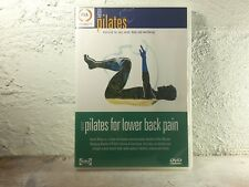 Back & Neck Pain Pilates Workouts - DVD - AUSTRALIAN MADE - REGION 4 - FREE POST