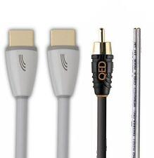 QED perfil Cine Pack-Altavoz 30m, 2 X Cable Hdmi Y Sub QE5300