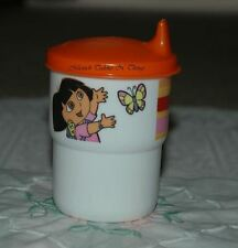 TUPPERWARE DORA THE EXPLORER 225ml SIPPER SIPPY TUMBLER