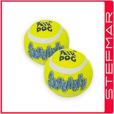 Kong Dog Toys Air Squeaker Ball 2Pk Lrg