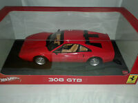 Hot Wheels Ferrari 308 GTB rossa red 1/18 W1775