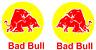 2x BAD BULL STICKER CAMPER VAN VINYL GRAPHICS STICKERS DECALS CARAVAN MOTORHOME