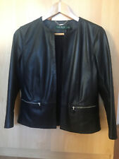 Ralph Lauren Women black leather jacket size S, brand new with tags.