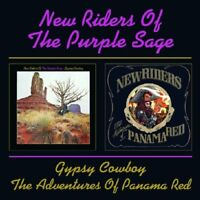 NEW RIDERS OF THE PURPLE SAGE -GYPSY COWBOY/THE ADVENTURE OF PANAMA RED  CD NEU