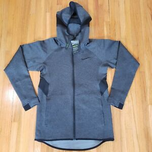 Nike Therma Flex Showtime Full Zip Basketball Hoodie Gray New Sz S AT3263-032