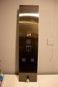 Milano Lisse - Modern Concealed Shower Tower Panel with Hand Shower, 5 Body Jets