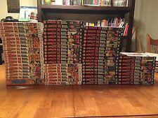 Naruto manga collection #'s 1-71 except 48, 49, 67, 68