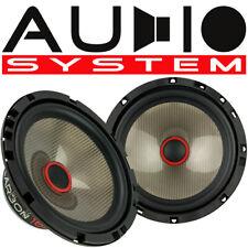 AUDIO SYSTEM CARBON 165 W 16,5cm Kickbass Auto Lautsprecher Tieftöner 165mm