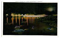 Night Scene on Lake Roosevelt, AZ Postcard *5N31