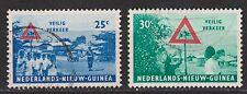 Indonesia Nederlands Nieuw Guinea New Guinea  73-74 used gestempeld 1962